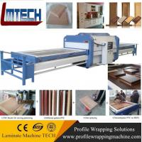 Quality automatic type single station vacuum membrane press machine for sale