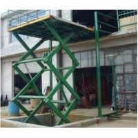Wholesale 2t capacityStationary scissor lift  Scissor car lift-specially for lifting cars Hydraulic tail lift from china suppliers