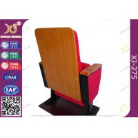 Wholesale Fabric Cover Sound Absorbing Conference Room Chairs hall chairs with Writing Pad from china suppliers