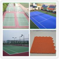 Wholesale CE Customized Water Proof Tennis Court Flooring , Table Tennis Flooring from china suppliers