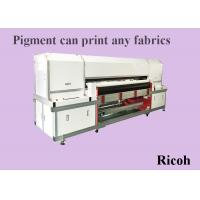 Wholesale High Speed Pigment Inkjet Printers With Ricoh Head 1200 Dpi Water Based Ink from china suppliers