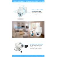 Quality Motion Detection Mini Speed Dome Camera , WIFI IP High Speed Cctv Dome Camera for sale