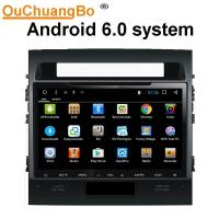 Wholesale Ouchuangbo car radio head unit stereo androi 6.0 for Toyota land crusier 2010 with dual zone SWC USB bluetooth gps from china suppliers