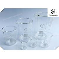 Wholesale Glass Beaker  / Lab Glass Beakers 60mm Height 50mL , Lab Glassware Kit from china suppliers