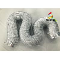 """Wholesale 2""""~20"""" Size Aluminum Flexible Duct Installation Easy Reinforced Double Layer from china suppliers"""