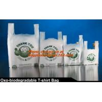 Wholesale Vest Handle Sealing bags, Handle bags, Degradable T-shirt bag,biodegardable t-shirt bag from china suppliers