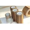 Buy cheap PTFE Teflon Tape Coated Fiberglass / PTFE Micro-Porous Membrane from wholesalers