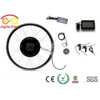 Quality 500 Watt Electric Bike Conversion Kit , Electric Bicycle Hub Conversion Kit With 22A Controller for sale