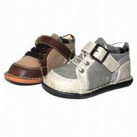 Chidren's casual shoes with PU upper and TPR outsole