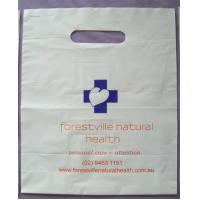Wholesale Biodegradable White Plastic Die Cut Handle Bags for Medical Purpose from china suppliers