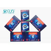 Wholesale All In One Laundry Detergent Solid Thinner Sheets , 3 In One Laundry Sheets For Family Use from china suppliers