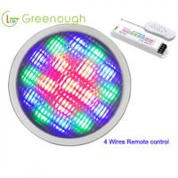 Buy cheap 4 Wires Remote control RGB LED Pool Lights/ replacement bulbs /Spa light GNH-P56A-18*1W-H from wholesalers