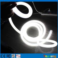 Wholesale 120v 6500k white emitting led neon flex rope lights trip ribbon tube soft hose smd 16mm mini size flexible neon from china suppliers