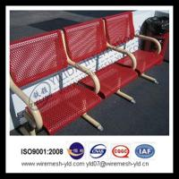 perforated sheet for outerdoor furniture