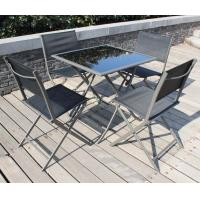 Wholesale outside Garden Furniture Table and Chairs Set  Folding style from china suppliers