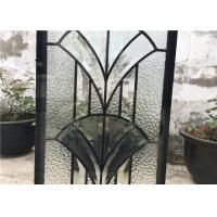 Wholesale IGCC IGMA Decorative Bathroom Window Glass Clear Bevel Tempered Glass from china suppliers