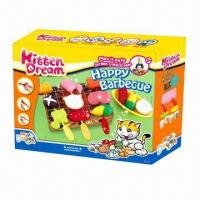 Wholesale Happy Barbecue Educational Toy, Made of Flour, Safe from china suppliers