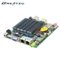 Wholesale Celeron J1900 Nano ITX Quad Core Motherboard 2 RJ-45 VGA HDMI LVDS from china suppliers