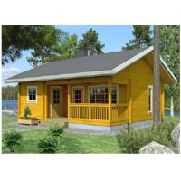 Wholesale One Floor Outdoor Wooden House Chalet With 36mm 72mm 110mm Wall from china suppliers