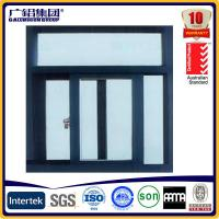 Quality powder coated aluminium sliding window with screens for sale