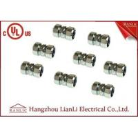 Wholesale Steel IMC 3/4 Compression Coupling Rigid Conduit Adaptor Electro Galvanized from china suppliers