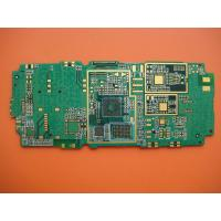 Wholesale 0.9mm Non-halogen Material Thickness FR4 10 Layers Prototype PCB Board for Cell Phone from china suppliers