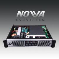 Wholesale Double Channel 2U Stereo Power Amplifier , Pro Audio Amplifier 20Hz - 25KHz from china suppliers