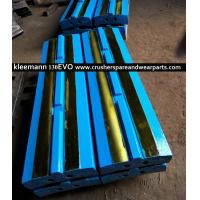 Quality Kleemann EVO 130 MR110 Blow bars Impact crusher spare parts High Chrome High maganese steel crusher parts for sale