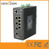 Wholesale Industrial 10 Port Network Switch 8 * 100 Base TX + 2 * 1000 Base SFP FX Fiber Optic from china suppliers