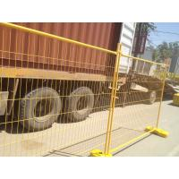 Wholesale YAMBA temporary fencing panels for sale hot dipped galvanized temp fencing panels 2100mm x 2400mm from china suppliers