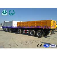 Wholesale 10600 Kgs Semi Trailer Tipper Q345B High Tensile Steel 9500 x 2300 x 1560mm from china suppliers