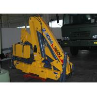 Wholesale 4 Ton Mobile Knuckle Boom Truck Crane For Construction from china suppliers