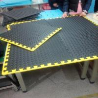 Wholesale Garage Flooring Set with yellow borders from china suppliers
