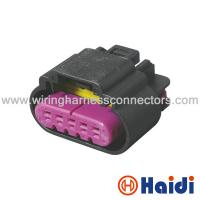 Wholesale Female Automotive Connectors Black Cylindrical / Rectangular Columnar 5 Pin 13519051 from china suppliers