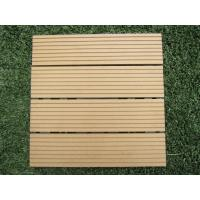 Wholesale OEM Anti-Corrosion Indoor Wood Plastic Composite Flooring for Garden,Park and Balcony from china suppliers
