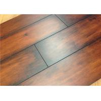 Wholesale Linen Surface Textured Engineered Wood Flooring in Kitchen Dark Laminate E1 from china suppliers