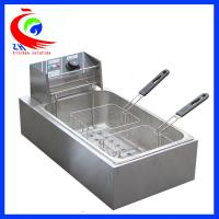 Wholesale Stainless steel Table Top Commercial Electric Deep Fryer with 2 baskets 12L from china suppliers
