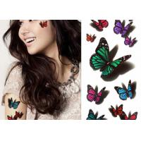 Quality Multi Coloured Temporary Body Tattoo Stickers , Personalised Fake Tattoos Stikers for sale