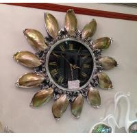 Wholesale luxury  shell wall clock,large clock from china suppliers