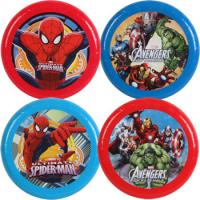 Buy cheap 9 Inch Funny Gift Plastic Flying Disc With Super Hero For Promotional from wholesalers