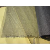 Wholesale plain weave dark gray Fiberglass Window Screens from china suppliers