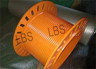 Wholesale Helical Spiral Grooved Drum Orange Winch Drum SS304 Material GJB Standard from china suppliers