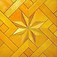 Wholesale Canadian Maple wood parquet flooring Baroque style from china suppliers