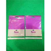 Wholesale Purple Eco - Friendly 0.08mm OPP  Shower Sponge Self Adhesive Plastic Bags from china suppliers