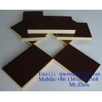 Wholesale Shuttering Plywood Brown Film Faced Plywood 12 mm 15 mm 18 mm 21 mm from china suppliers
