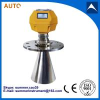Wholesale 4-20mA radar level transmitter fuel tank meter from china suppliers