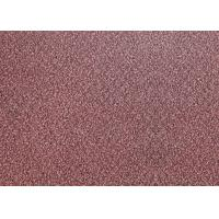 Quality Anti Slip Loose Lay Vinyl Flooring 5mm Red Color Carpet Tiles 0.3mm Wear Layer for sale