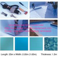 UV Resistant Waterproof PVCInground Swimming Pool Accessories Blue