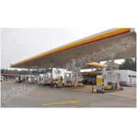 Wholesale Prefabricated Steel Roof Trusses Shed Building Space Frame Petrol Station Design from china suppliers