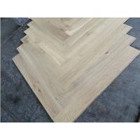 Wholesale character grade fishbone oak engineered wood flooring, both unfinished and prefinished available from china suppliers